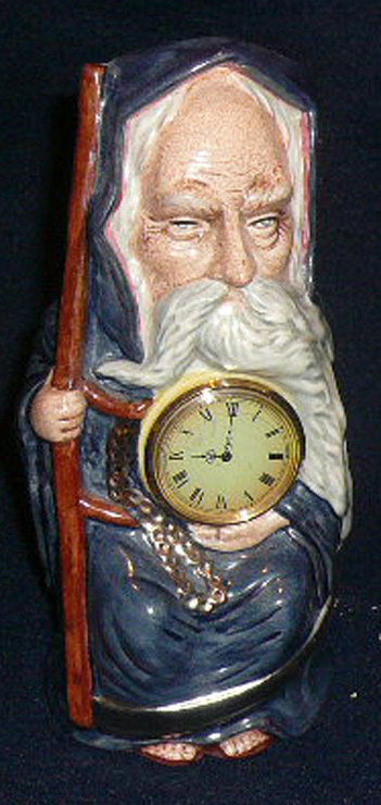 Grandfather Clock Father Time Royal Doulton Limited Edition Toby Mug
