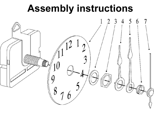 Grandfather Mantle Wall Clock Movements