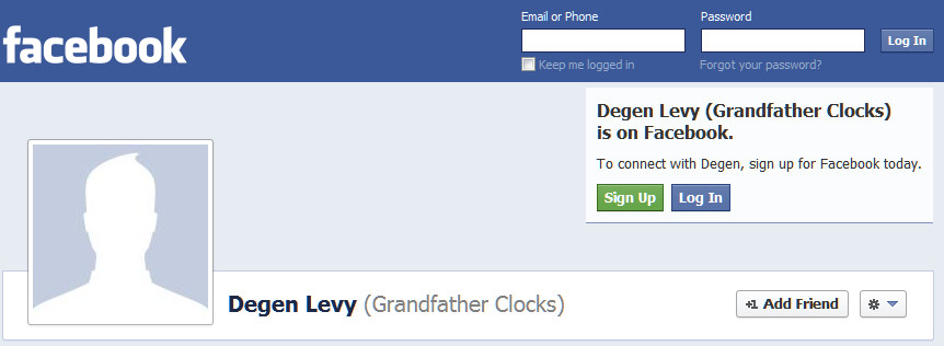 GrandfatherClocks on Facebook