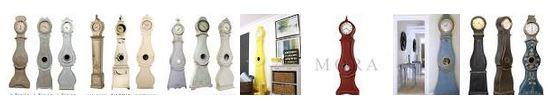 Grandfather Clocks from Sweden known as Mora Grandfather Clocks