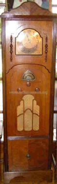 Grandfather Clock and Radio by Atwater Kent Manufacturing Co.