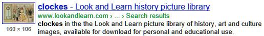 Clockes History - Look and Learn.  Clockes is plural of Clocke.