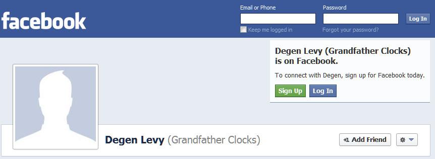GrandfatherClocks on Facebook