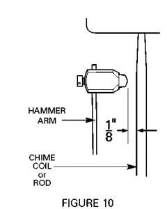 Clock Chimes Adjustment - Figure 9
