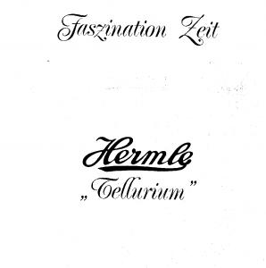 Tellurium Manual Hermle Clock Telleriums-1